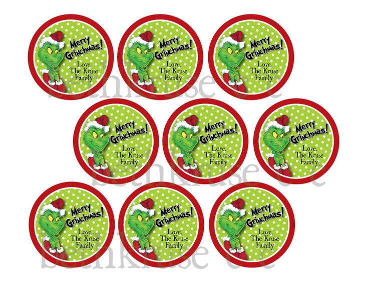 Grinch Party Printables Free