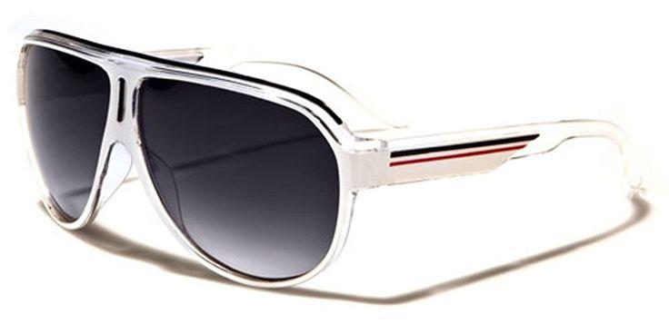 Turbo Aviator Men s Women Retro Sunglasses Flat Top Frame