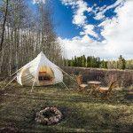 Hipcamp | Kenosha Pass | Kenosha Pass Yurt, CO | Search private and public campgrounds