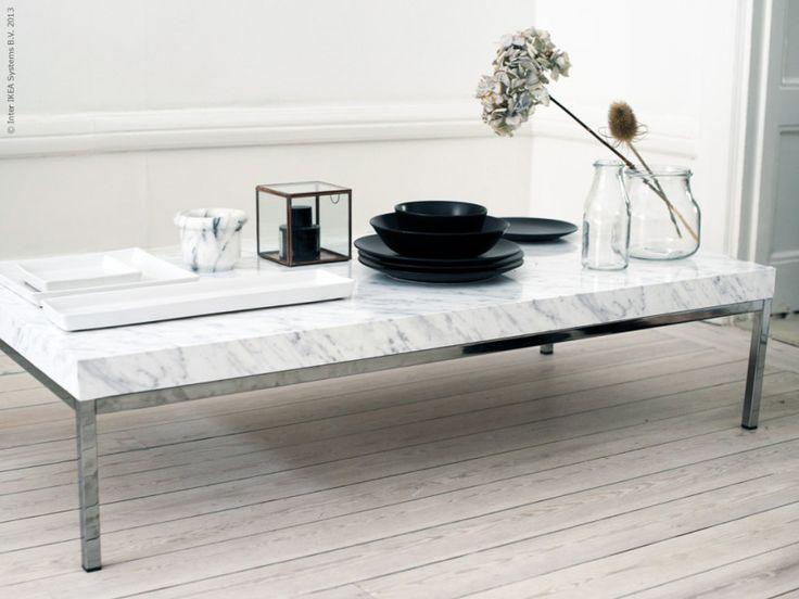 carrara marble coffee table | idi design