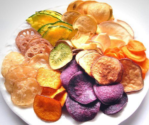 Fruits And Vegetable Chips Snacks
