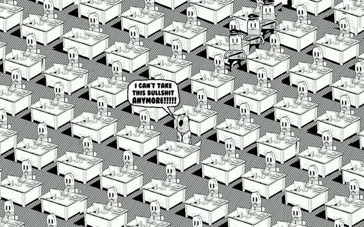 officeshit  - Steve Cutts
