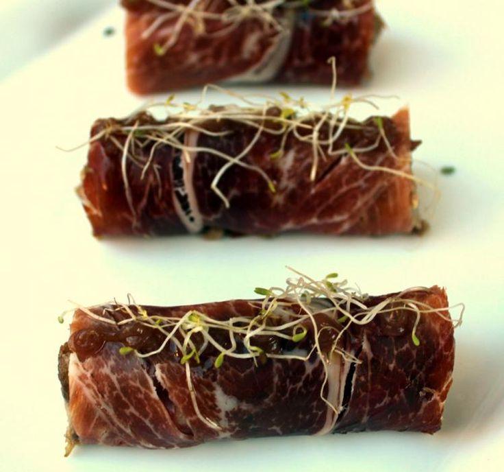 Rollitos de jamón para la Cena de Nochevieja 2