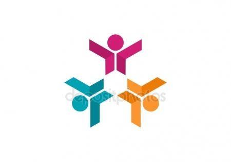 #Social #Teamwork #Network #Logo #Team #people #modern #media #connection #working #education #symbol #vector #icon #design #communication #together #union #group - https://depositphotos.com/portfolio-3904401.html?ref=3904401