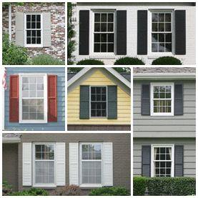 Top 25 best Outdoor window shutters ideas on Pinterest Window