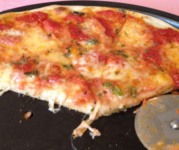 La pizza parfaite à la farineManitoba