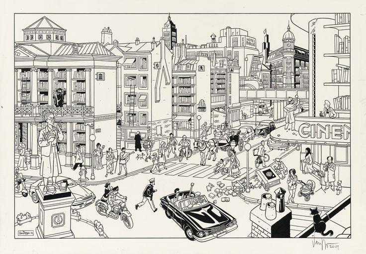 Peter Van Dongen (né en 1966) Bibliostraat | Lot | Sotheby's