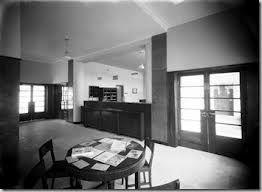 estação de correios de alcobaça 1935 - 38 Foto 1