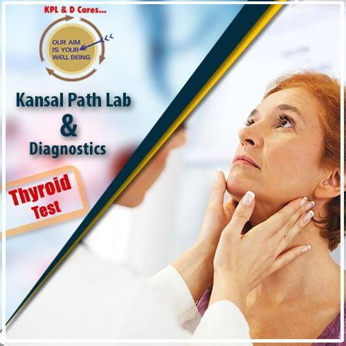 Thyroid blood test in yamuna vihar, Delhi | Kansal Path Lab Book your appointment Now - +91-9999265646
