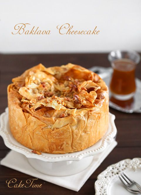baklava cheesecake / baklava cheesecake (in Polish with English translation included)