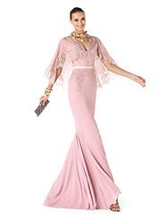 Pronovias apresenta o seu vestido de festa Rea da coleção Madrinha 2014. | Pronovias