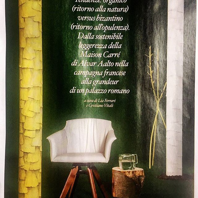 Our Water Pitcher Block on @iodonna_it  October 2015. #design #madeinitaly #glassblowing #handmade #craftmenship