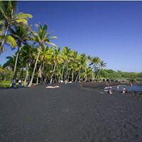 Vida, bem estar , mensagens: Praia de areias coloridas . Areias cor negra , Pun...