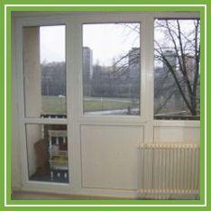 Eger Erkély vagy folyosó műanyag ablak