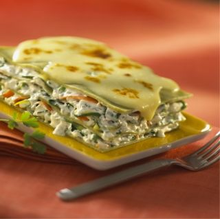 #Lasagne aux petits légumes #boursin #sante