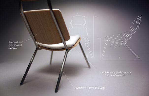 Respite Lounge Chair Design by Adam Moller « Furniii