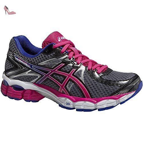 Asics Gel-Zaraca 4, Chaussures de Running Compétition Homme - Vert (Pine/Flash Yellow/Black 8807), 41.5 EU