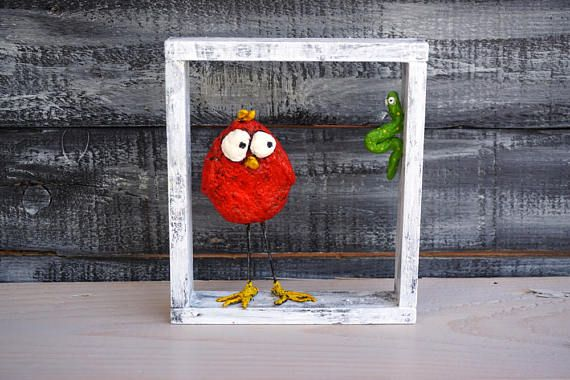 Funny Gifts Funny Wall Art Paper Mache Art Framed Art
