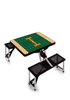 Picnic Time Tennessee Volunteers Portable Picnic Table - Orange - One Size