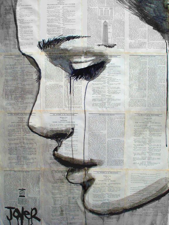 "Saatchi Online Artist: Loui Jover; Pen and Ink, Drawing ""myth"""