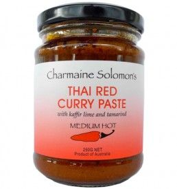 THAI RED CURRY PASTE - 250G