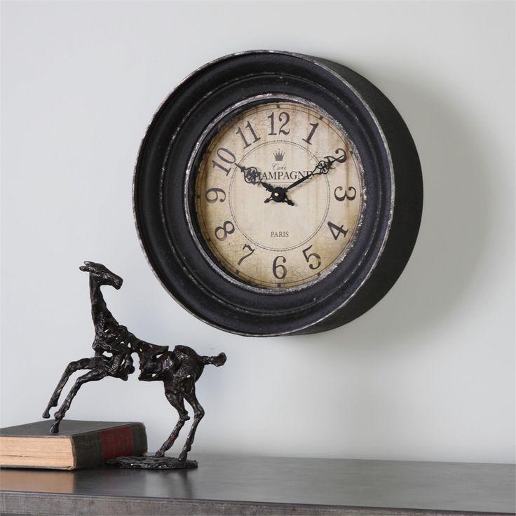 Uttermost Melania Wall Clock Reach back