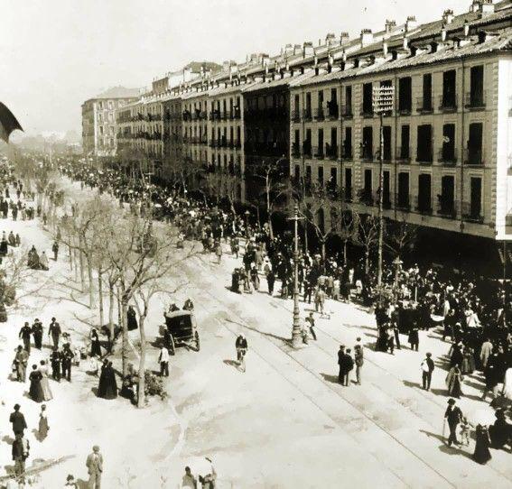Foto antigua calle Princesa MADRID
