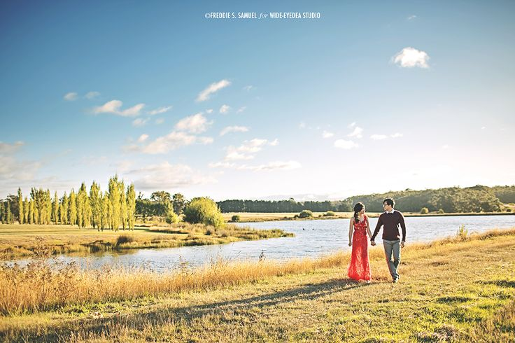 Prewedding Engagement Photography - Melbourne Make up and Hair Do by Keziah Shierly Make-up Artist