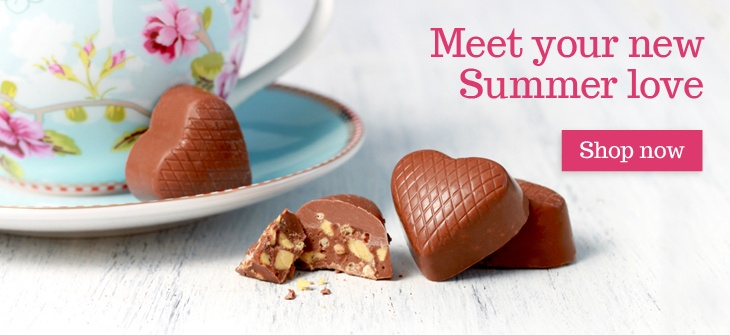 Meet your new summer love at Lily O'Brien's Chocolates