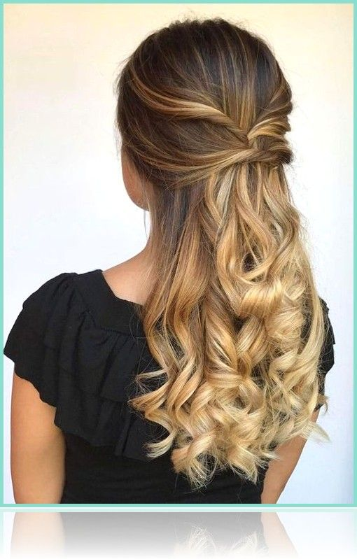 Frauen Frisuren 2019-Top 10 Most Wanted Long Prom Hairstyles 2019 That are Simpl…