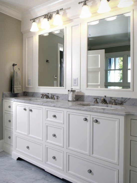 Builder Grade Mirror Exactly What I Hope To Do With Ours Diy Upgrades Pinterest