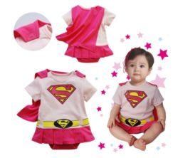 Baby Superhero Costumes Playsuits Costumes for Kidz $16.68  FREE SHIPPING to the United States  Description: Baby Superhero Costumes Playsuits Infant for baby Boys and Girls Rompers Outfit Supergirl Superman Batman Wonder Woman Hulk Toddler Jumpsuits