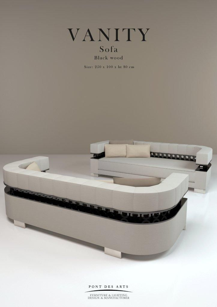 Vanity Sofa Pont Des Arts Designer Monzer Hammoud
