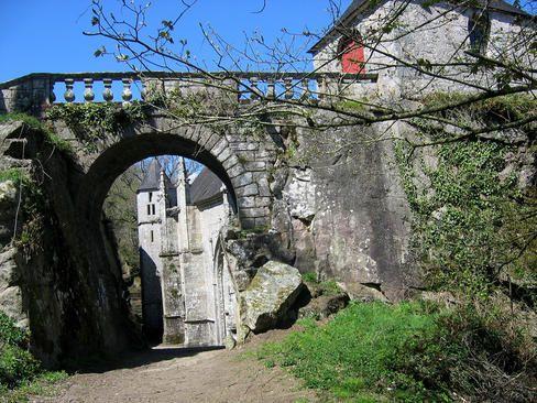 Bretagne.com - Les photos de Bretagne - Chapelle Sainte barbe le faouet