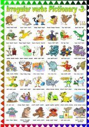 English teaching worksheets: Irregular verbs                                                                                           Mais