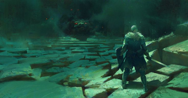 ArtStation - Dark Souls Tribute Version 3, Tomas Muir