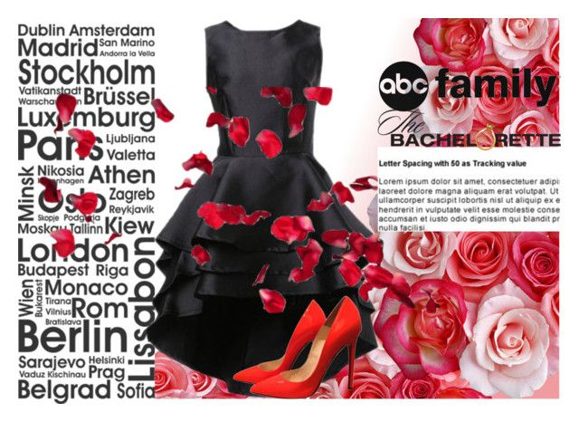 """""""abc bachelorette"""" by budding-designer ❤ liked on Polyvore featuring Christian Louboutin and thebachelorette"""