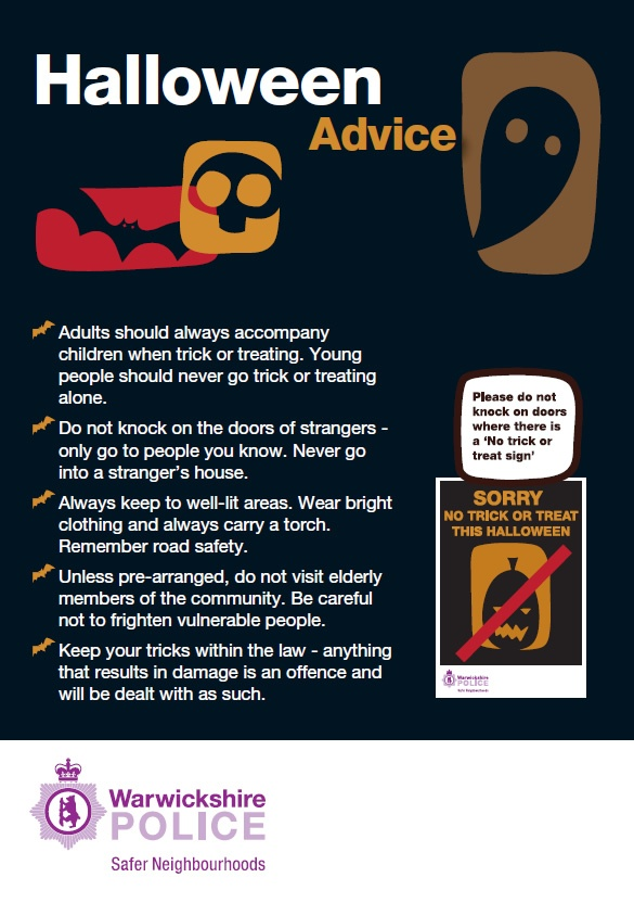 Image result for halloween uk safety tips for the elderly