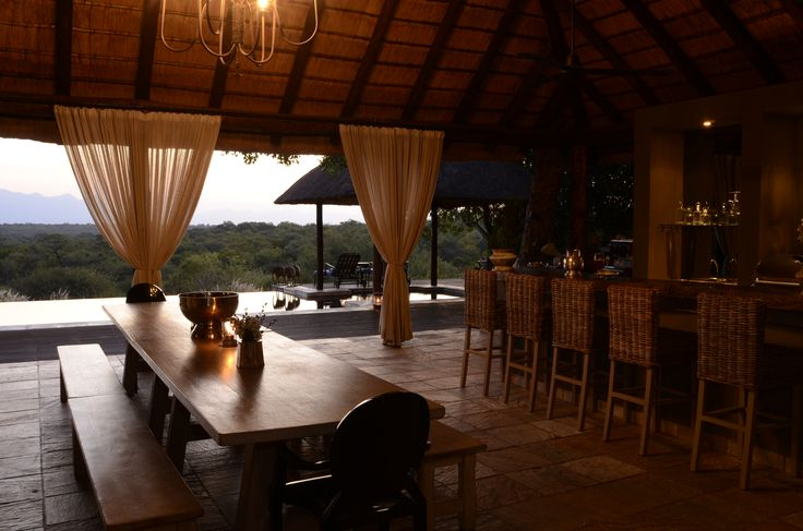 Our bar, the perfect spot for a sundowner or 2