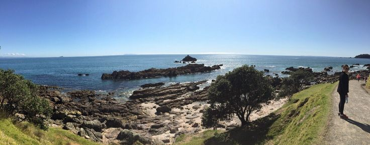 Rock Pools on the hiking track around Mt Maunganui. sometimes seals ly out on the rocks and pay us visits