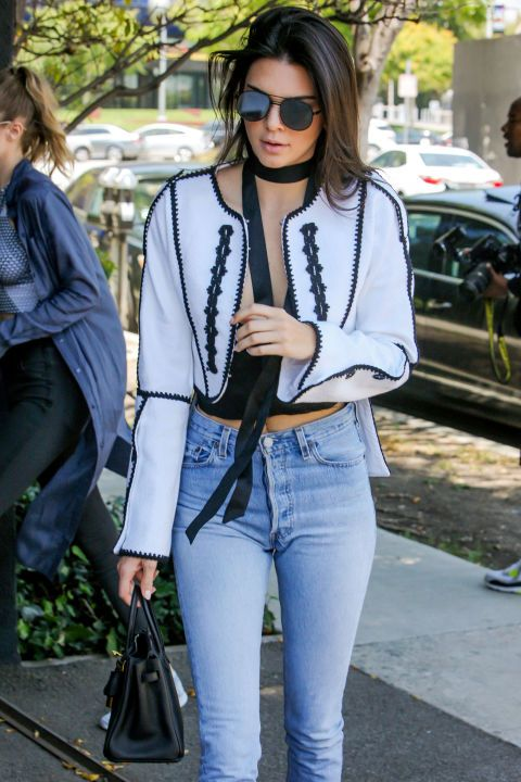 11 summer 2016 fashion trends to try: round mirrored sunglasses as seen on Kendall Jenner