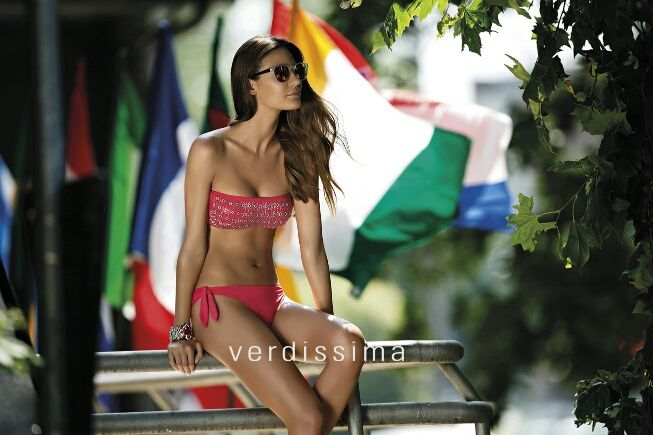 Bikini a Fascia Verdissima