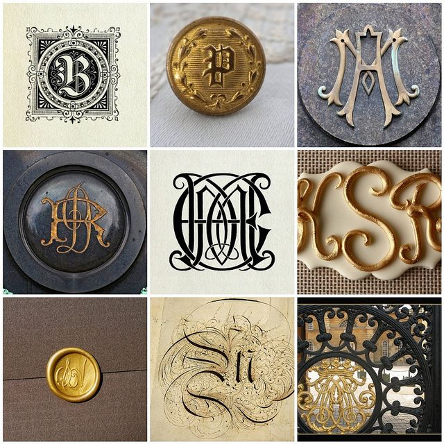 Monograms & wax seals Like and Repin. Thx Noelito Flow. http://www.instagram.com/noelitoflow