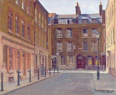 Princelet street East End of London
