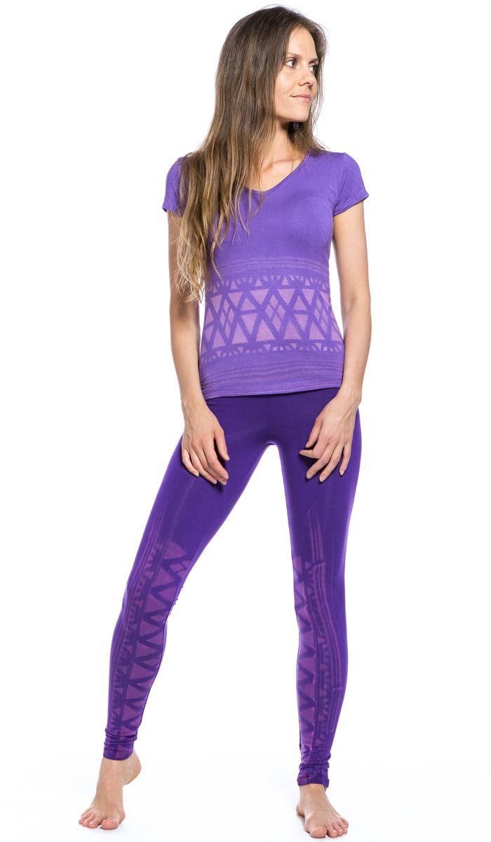 Леггинсы , хлопок трикотаж лосины для йоги, лиловые штаны для йоги, одежда для йоги, legging , tights yoga, yoga pants, yoga clothes, 2430 рублей