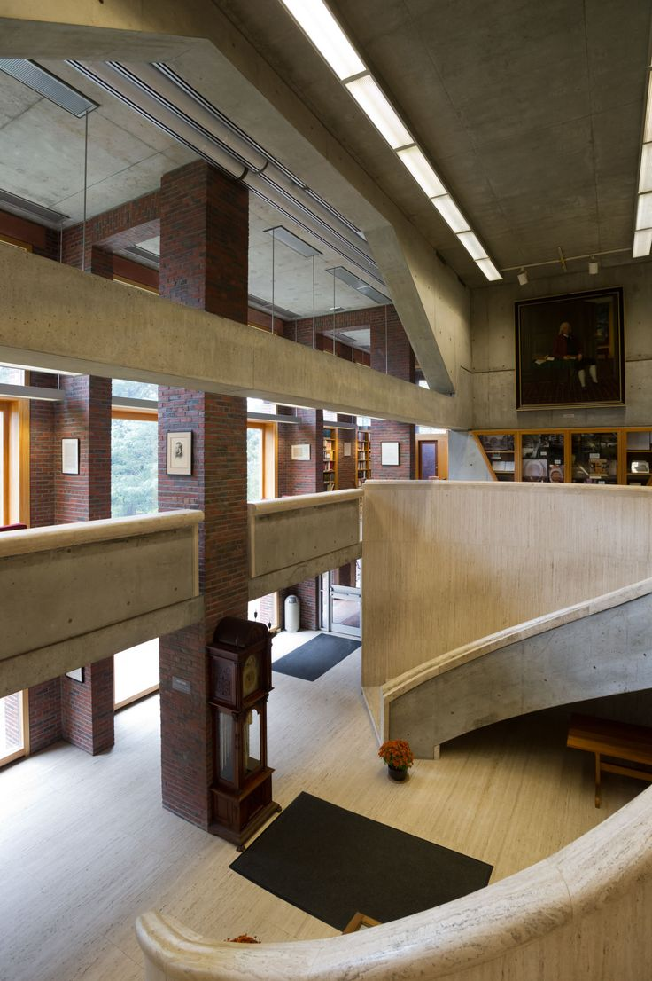 Louis I. Kahn, Xavier de Jauréguiberry · Library at Phillips Exeter Academy · Divisare