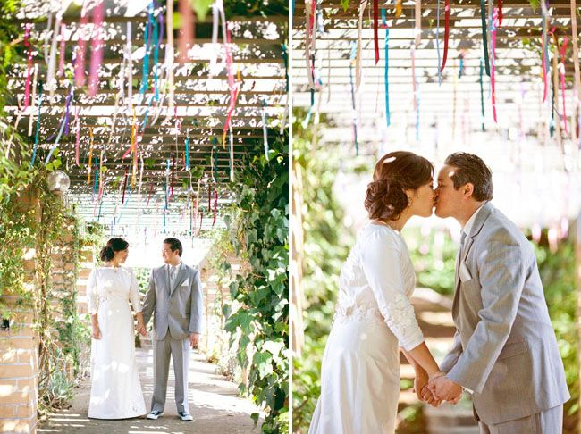 The 299 best ribbon art images on pinterest bricolage creative an outdoor wedding with lots of diy paper details melissa junglespirit Images