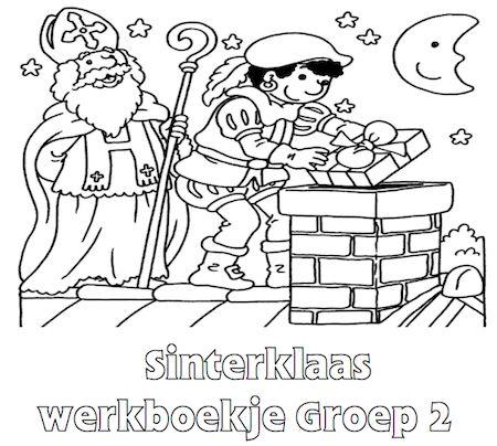 Sinterklaas Werkboekje Groep 2