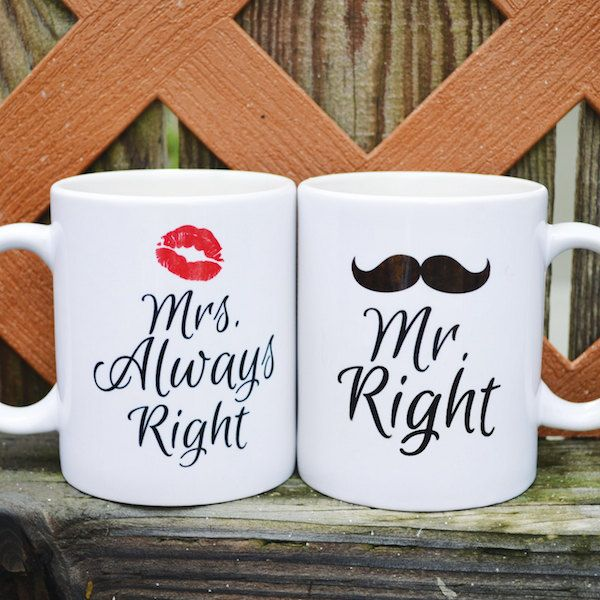 10 Pretty Perfect Wedding Mugs to Floss With