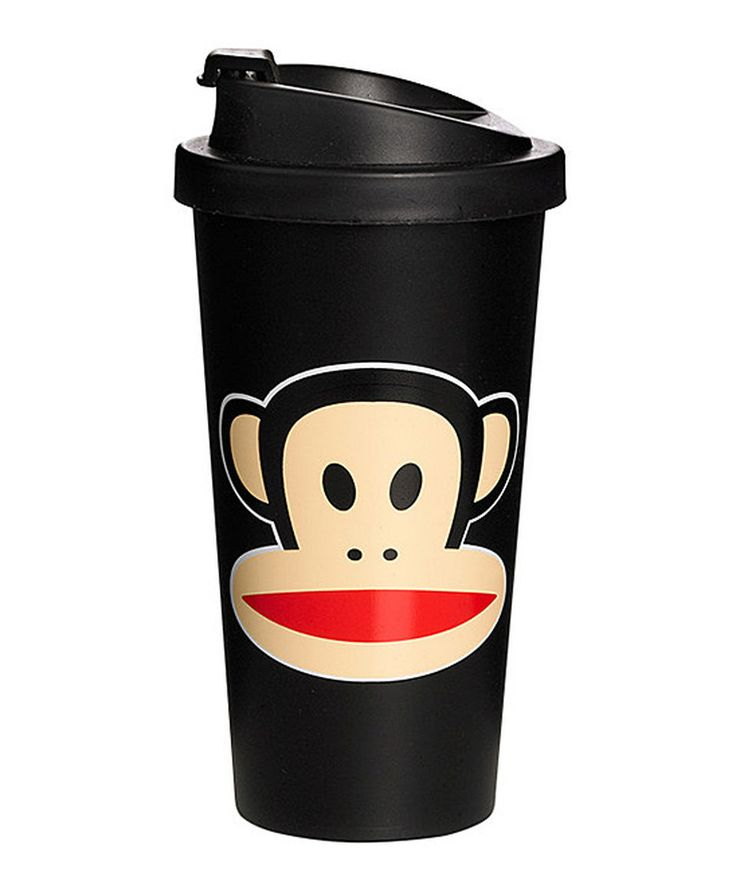 Another great find on #zulily! Black Paul Frank 17-Oz. To-Go Cup by Paul Frank #zulilyfinds